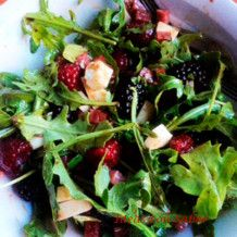 Read more about the article Salad of watercress, grapefruit and blackberry (4 portions)